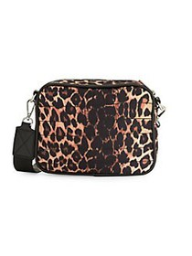 CORE life Mini Quilted Crossbody Bag LEOPARD