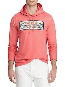 Polo Ralph Lauren Cotton Hooded Graphic Tee RED SK