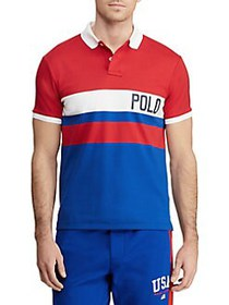 Polo Ralph Lauren Slim-Fit Interlock Polo Shirt RE
