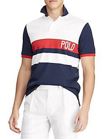 Polo Ralph Lauren Custom Slim-Fit Interlock Polo W