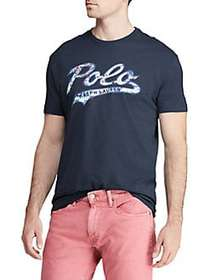 Polo Ralph Lauren Classic Fit Graphic Tee EARTH BL