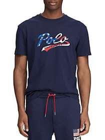 Polo Ralph Lauren Classic-Fit Jersey Graphic Tee F