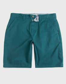 CHARLES AND A HALF Lincoln Stretch Teal Blue Mens
