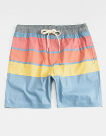 VALOR Rally Stripe Mens Volley Shorts_