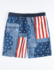 O'NEILL Patches Cruzer Mens Volley Shorts_