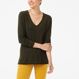J. Crew Factory factory womens V-neck pullover swe