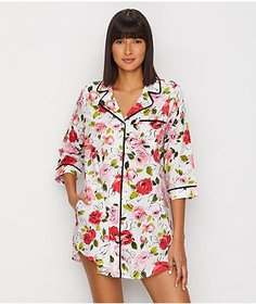 kate spade new york Rose Woven Sleep Shirt
