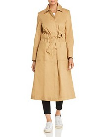 Tory Burch - Trench-Style Drawstring Coat