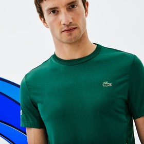 Lacoste Men's SPORT Crew Neck Stretch Technical Je