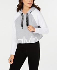 Calvin Klein Performance Colorblocked Logo Cropped