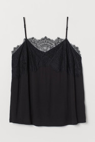 H&M+ Camisole Top with Lace