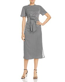 C/MEO Collective - Provided Tie-Front Houndstooth