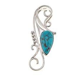 Jay King Campitos Turquoise Scroll Sterling Silver