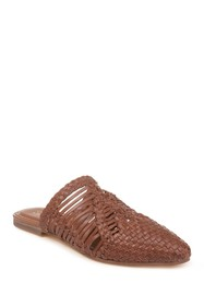 Splendid Tucker Woven Leather Mule