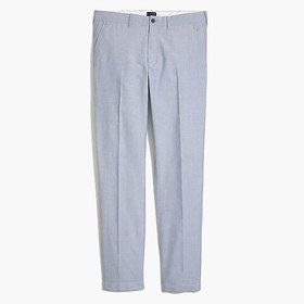 J. Crew Factory Sutton straight-fit pant in Oxford