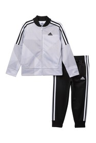 adidas Printed Tricot 2-Piece Set (Toddler & Littl