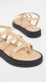 Melissa x Salinas Caribe Strappy Sandals