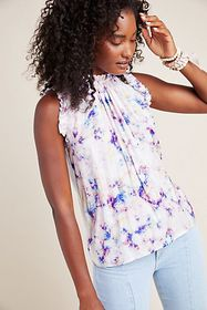 Anthropologie Calliope Tie-Dyed Tank