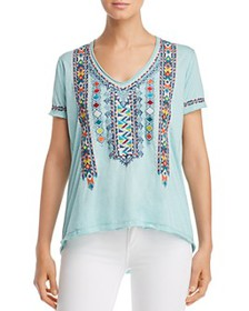 Johnny Was - Amaris Embroidered Tee