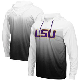 LSU Tigers Colosseum Magic Gradient Hooded Long Sl