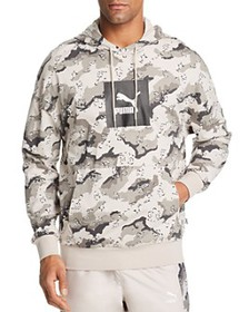 PUMA - Wild Pack Leopard Camouflage-Print Hooded S