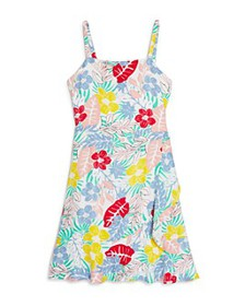 BCBGirls - Girls' Floral Print Fit-and-Flare Dress