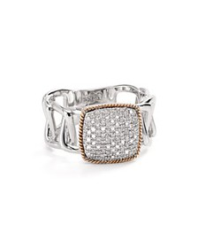 Bloomingdale's - Diamond Ring in Sterling Silver &
