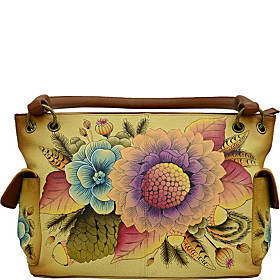 ANNA by Anuschka Hand Painted Leather East West Sh