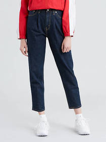 Levi's Pleated Mom Women's Jeans