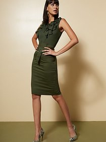 Belted Cargo Pencil Skirt - 7th Avenue - New York