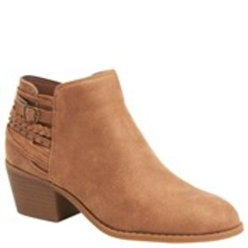 Womens Western Detail Ankle Bootie
