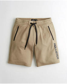 Hollister Classic Active Short 9 in., TAN