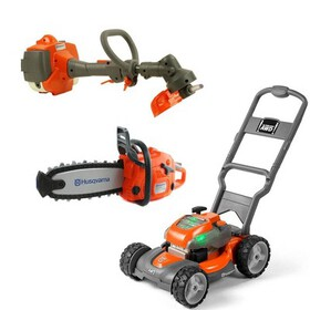 Husqvarna Battery Powered Kids Toy Lawn Mower, Law
