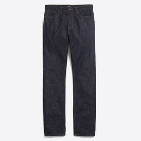 J. Crew Factory Straight-fit jean in rinse wash