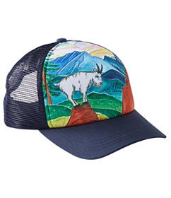 LL Bean Kids' Artist Series Trucker Hat
