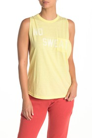 Free People No Sweat Graphic Tank Top