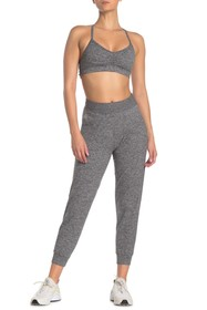 ARX LAB Cropped Heathered Joggers
