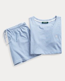 Ralph Lauren Embroidered Sleep Short Set