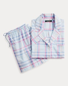 Ralph Lauren Cotton Boxer Short Sleep Set