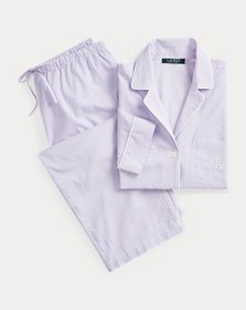 Ralph Lauren Check Cotton Sleep Set