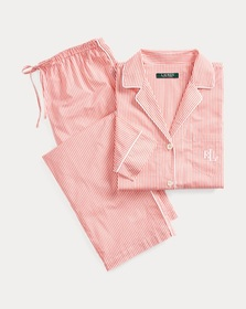 Ralph Lauren Striped Cotton Sleep Set