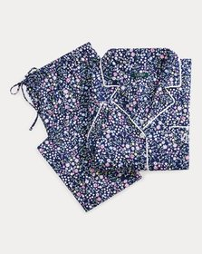 Ralph Lauren Floral Sateen Capri Sleep Set