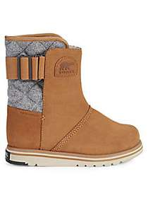 Sorel Rylee Waterproof Suede & Faux Fur Boots TAN