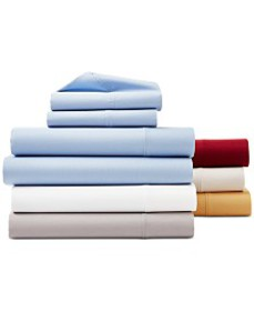 CLOSEOUT! York 4-Pc Sheet Sets, 600 Thread Count C
