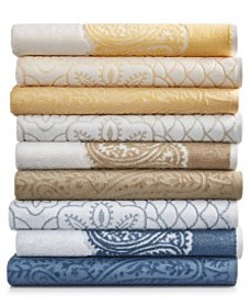 Paisley and Medallion Mix and Match Cotton Bath To