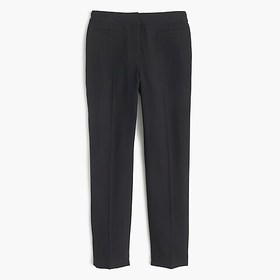 J. Crew French girl slim crop pant in 365 crepe