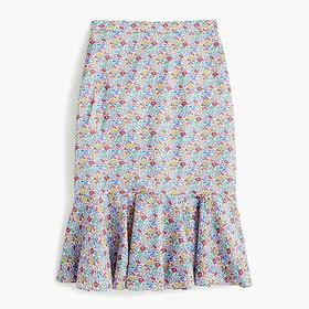 J. Crew Trumpet skirt in Liberty® Favourite Flower