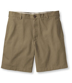 LL Bean Wrinkle-Free Double L Chino Shorts, Natura