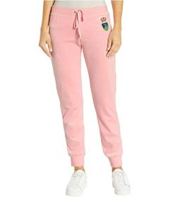 Juicy Couture Laurel Crest Velour Zuma Pants