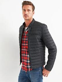 Lucky Brand Quilted Racer Jacket